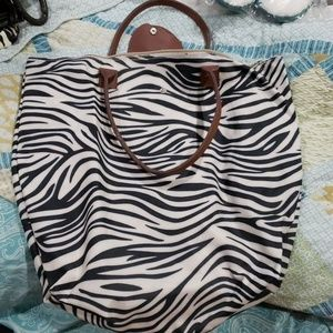Zebra bag/purse